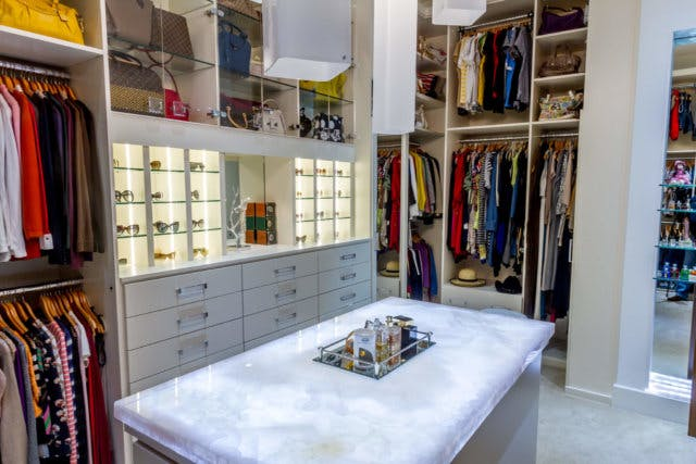 The Key To Getting That Glamorous Yet Ambient Closet Effect Is Highlighting  Pieces Of Your Wardrobe That Deserve To Stand Out. Got A Large Collection  Of ...