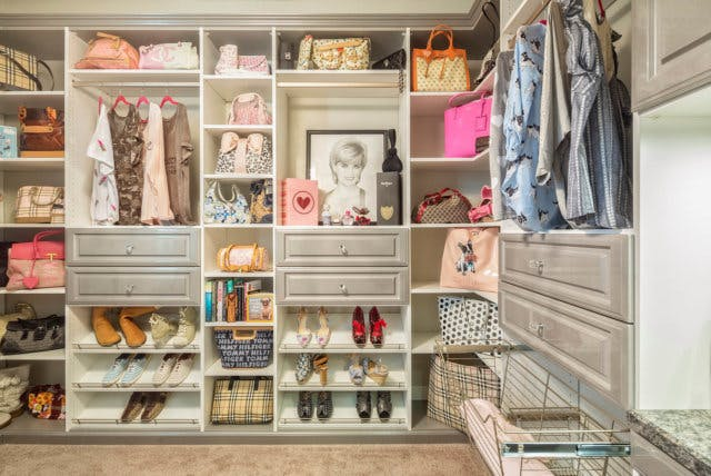 Most of the closet companies that specialized in the wall hung system now offer floor based closet systems too