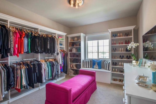 Color And Pattern Play A Very Large Part In Closet Design Costs And This Is  Where You Can Save A Lot Of Money. Solid White Is Always The Most Cost  Effective ...