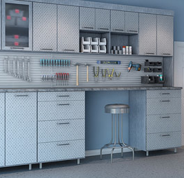 Garage Organization-tool storage_Closet Factory