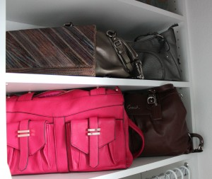 Handbag storage_Closet Factory