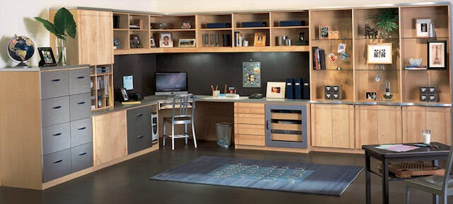 Custom Home Office Closet Factory