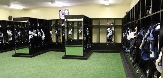 Marvelous High School Football Team Gets Custom Lockers, Closet Factory Style Nice Design