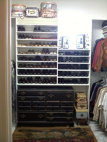 Making Room In The Smallest Of Closets