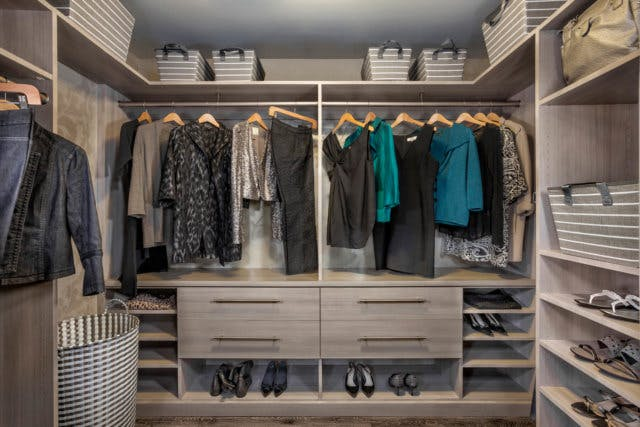 The More U201csectionsu201d You Have In A Closet, Usually The Higher The Cost. It  Might Be Tempting To Have A 24u201d Wide Double Hanging Section For Summer  Clothes, ...