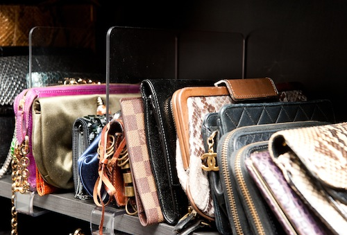 boutique closet_handbag display_Closet Factory