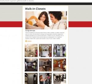 Closet Factory Walk-iin Gallery