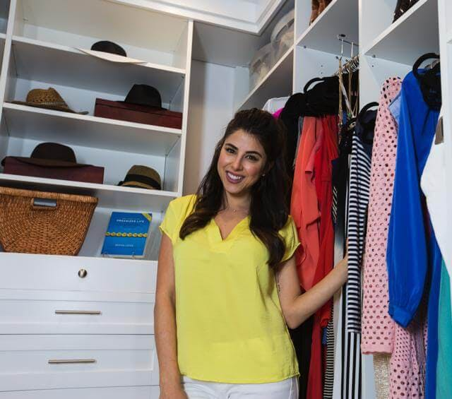 "Actress Daniella Monet(Nickelodeon's ""Victorious,"" ""Baby Daddy,"" ""The Fairly OddParents Movie"") had just moved into her new Los Angeles home when she realized the current closet space wasn't going to cut it. She decided to build an add-on, and contacted Closet Factory to design a 10x10 dream closet for her and her live-in boyfriend Andrew."