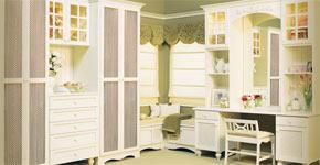 english cottage custom closet style