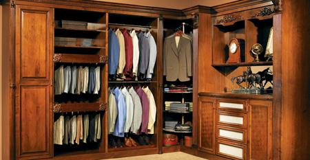 European Clic Custom Closet Style