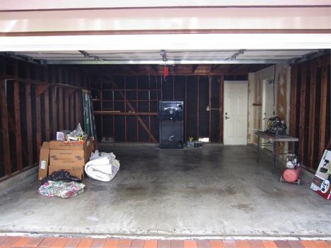Before Garage Renovation
