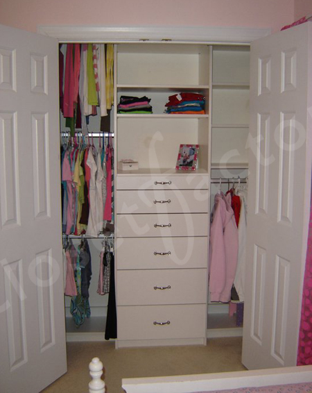 Kids Closet Organizer Systems Before After Closet Factory