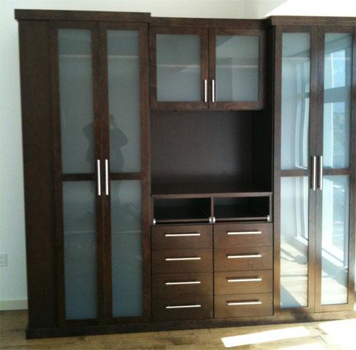 Loft Storage Custom Closet