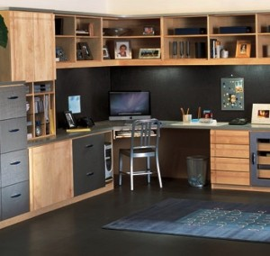Modern Home Office_Closet Factory