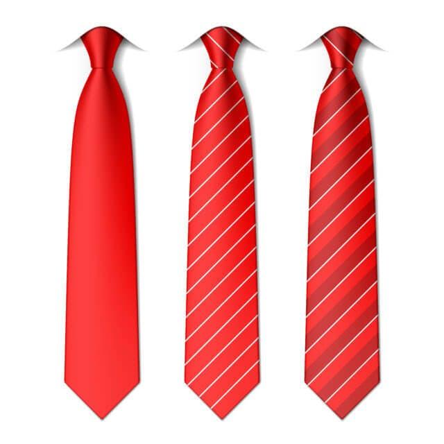organize ties