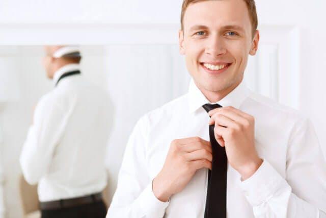 organize dads ties