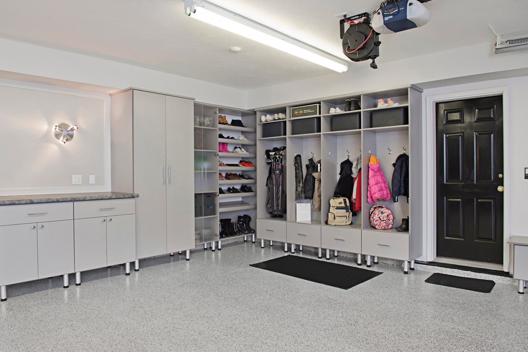 garage photo studio ... & Garage Storage Cabinets | Design and Install | Closet Factory