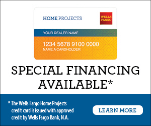 wells farge financing available