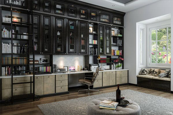 Create An Inviting Custom Home Office
