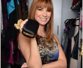 Jill loves her Alexander McQueen clutch handbag!