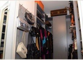 Jill's grey closet system
