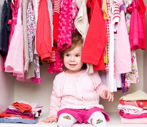 Secrets of Clean Kids' Closets