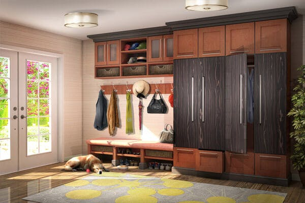 Mudroom Cabinet Design And Installation Closet Factory