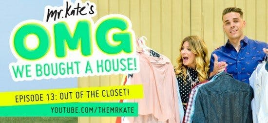 Closet Factory on OMG We Bought a House