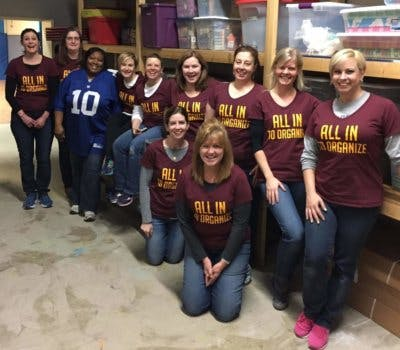 Closet Factory Cleveland Designer Volunteers To Organize The Boys & Girls Club