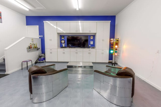 thats why establishing areas based on specific needs as julie did with this garage makeover makes so much sense - Garage Makeover
