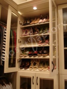 Decorative shoe closet solutions closet factory in contrast to my prior do it yourself shoe organization postings i now wanted to show you some beautiful decorative shoe closet features solutioingenieria Image collections