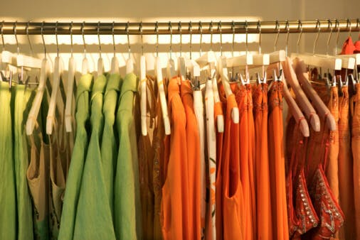 How To Color Code Your Closet