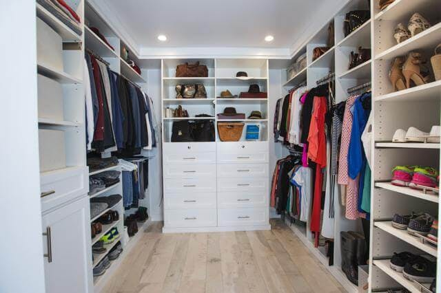 Daniella Monet's new closet makes getting dressed easier and more fun.