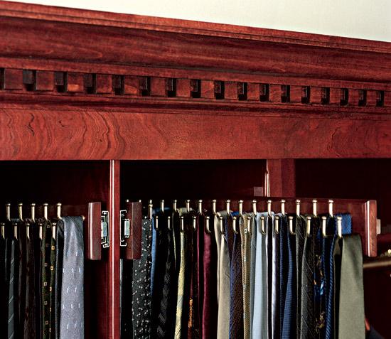 Best Tie Racks For Closets: 5 Stylish Ideas To Keep Neckties Neat