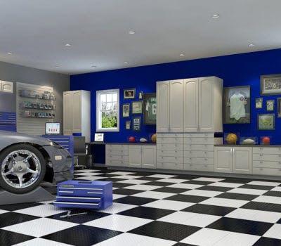 Garage Intervention: From Clutter to Organization