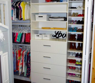 Growing Up With A Custom Closet System