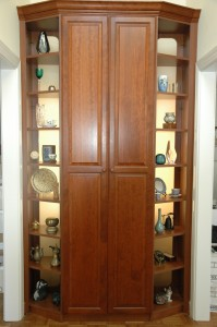 A Drugstore Display Inspiration Turns Into an Elegant Armoire