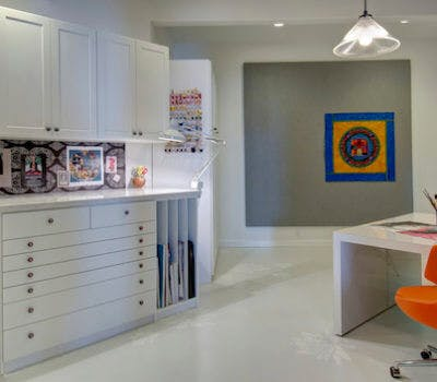 Storage Solutions: From Boring Basement to Custom Craft Room