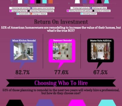 Home Improvement: The Truth in Numbers Infographic