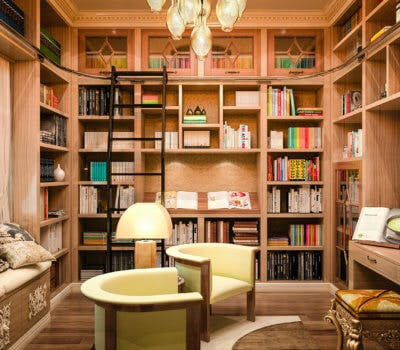Ways To Add A Home Library Into A Small Space