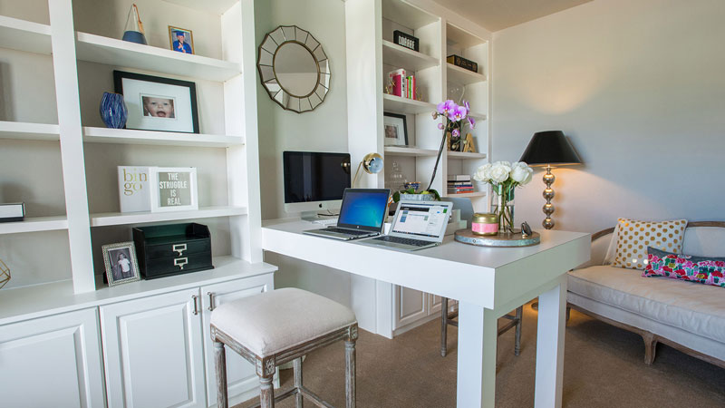 Combining a Home Office and a Nursery