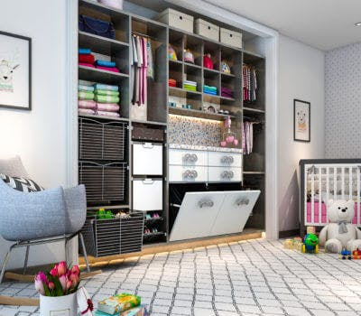 5 Genius Storage Ideas For Kids' Rooms