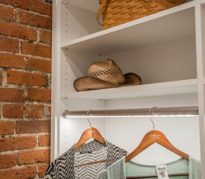 WeMo Closet Lighting Solutions: So Your Clothes Can't Hide