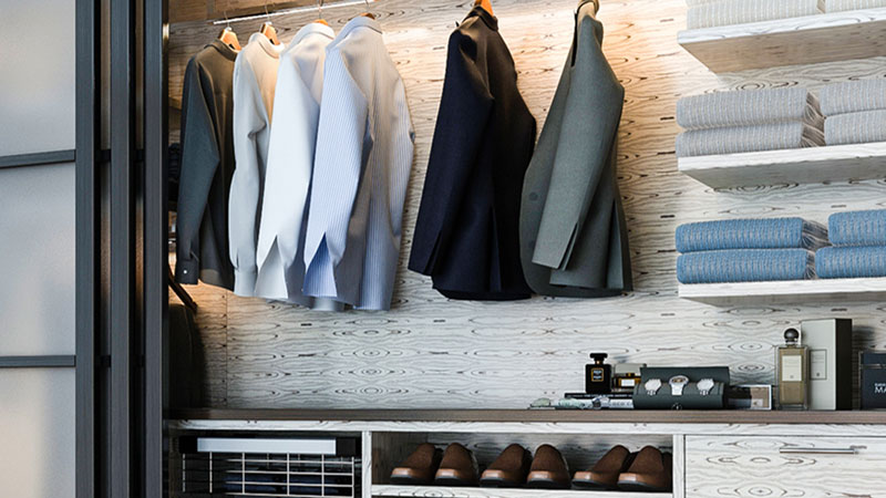 How To Create The Perfect Closet Storage For Your Man