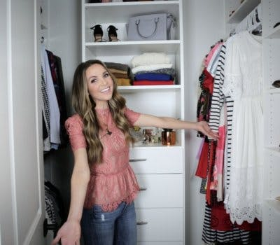 Watch Working Mother and Style Blogger Merrick White's Closet Transformation