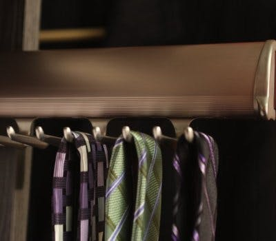 Custom Closet Accessories For Organizing Your Ties