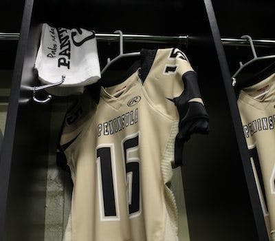 High School Football Team Gets Custom Lockers, Closet Factory Style