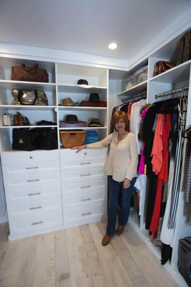Zen organizer Regina Leeds helped Daniella Monet apply the principles of Zen to her wardrobe.