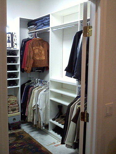 ... Factory Phoenix Team Installed A Closet System That Provided A Space  For Everything The Client Owned And Even Had Some Extra Closet Space Left  Over.