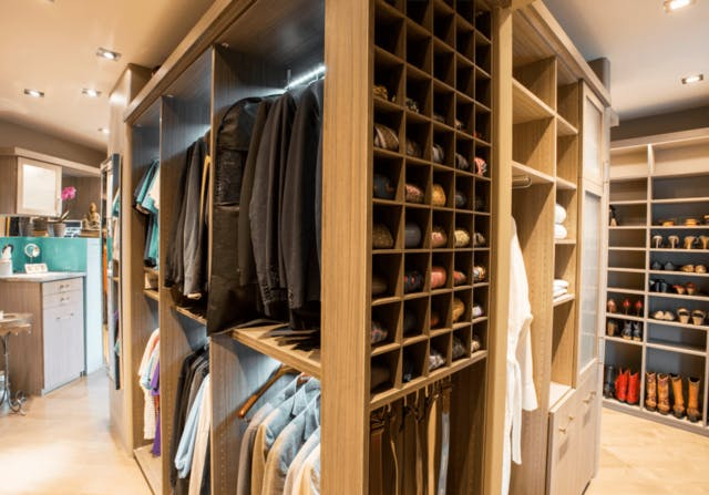 Cubby Love! This Boutique Closet Proves You Can Never Have Too Many